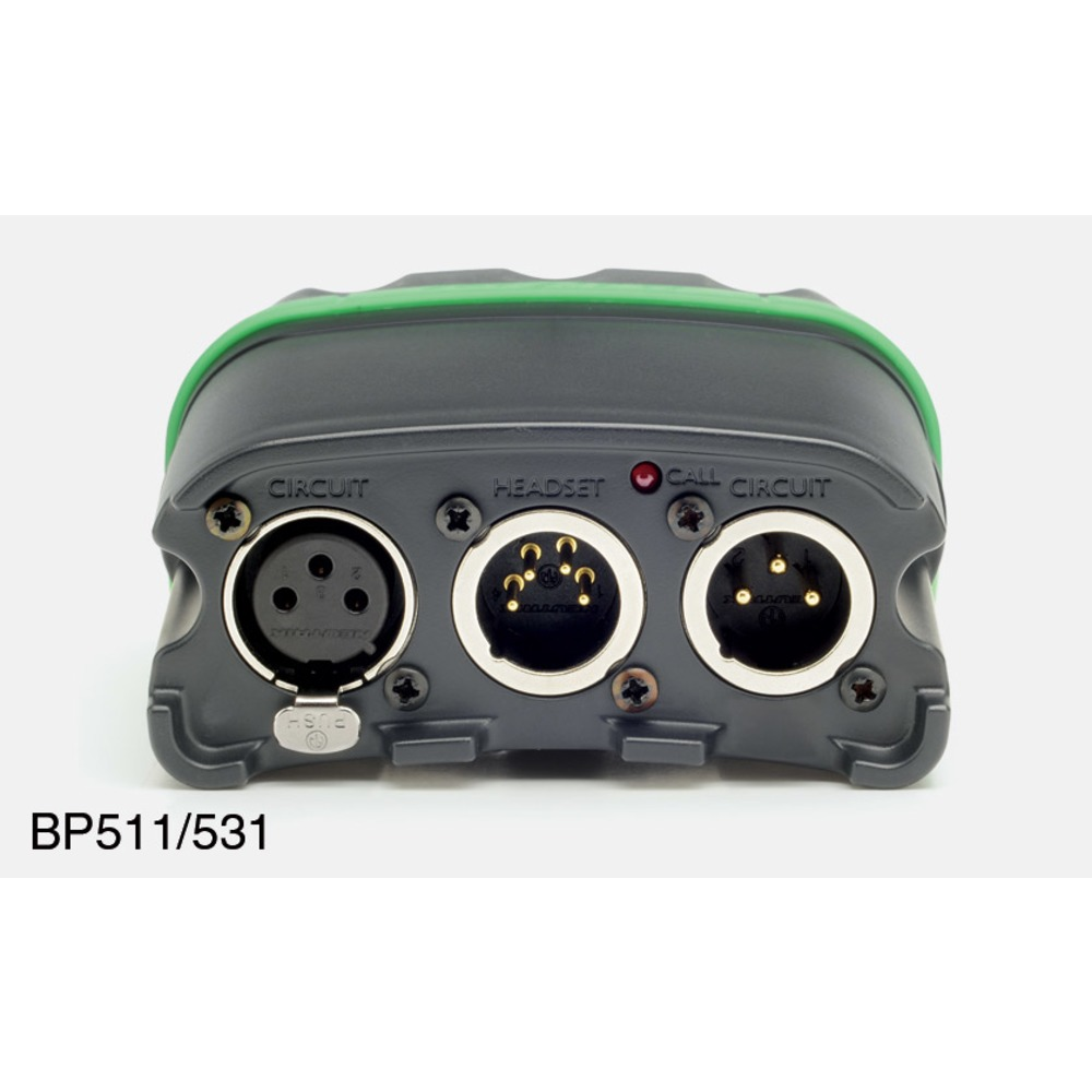 Tecpro BP531 Single Circuit Vibration Alert Beltpack (XLR-3)