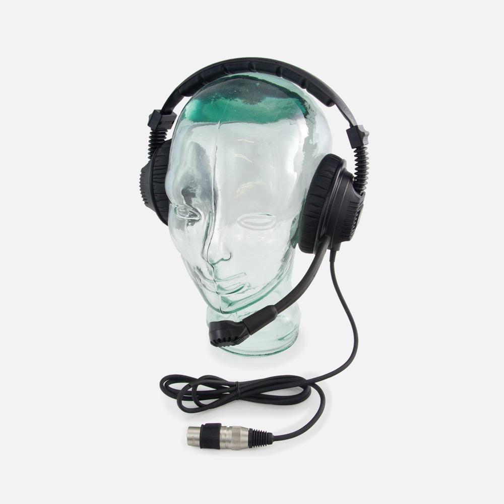 Tecpro DMH227 Double Muff IP67 Waterproof Headset (for BP167)