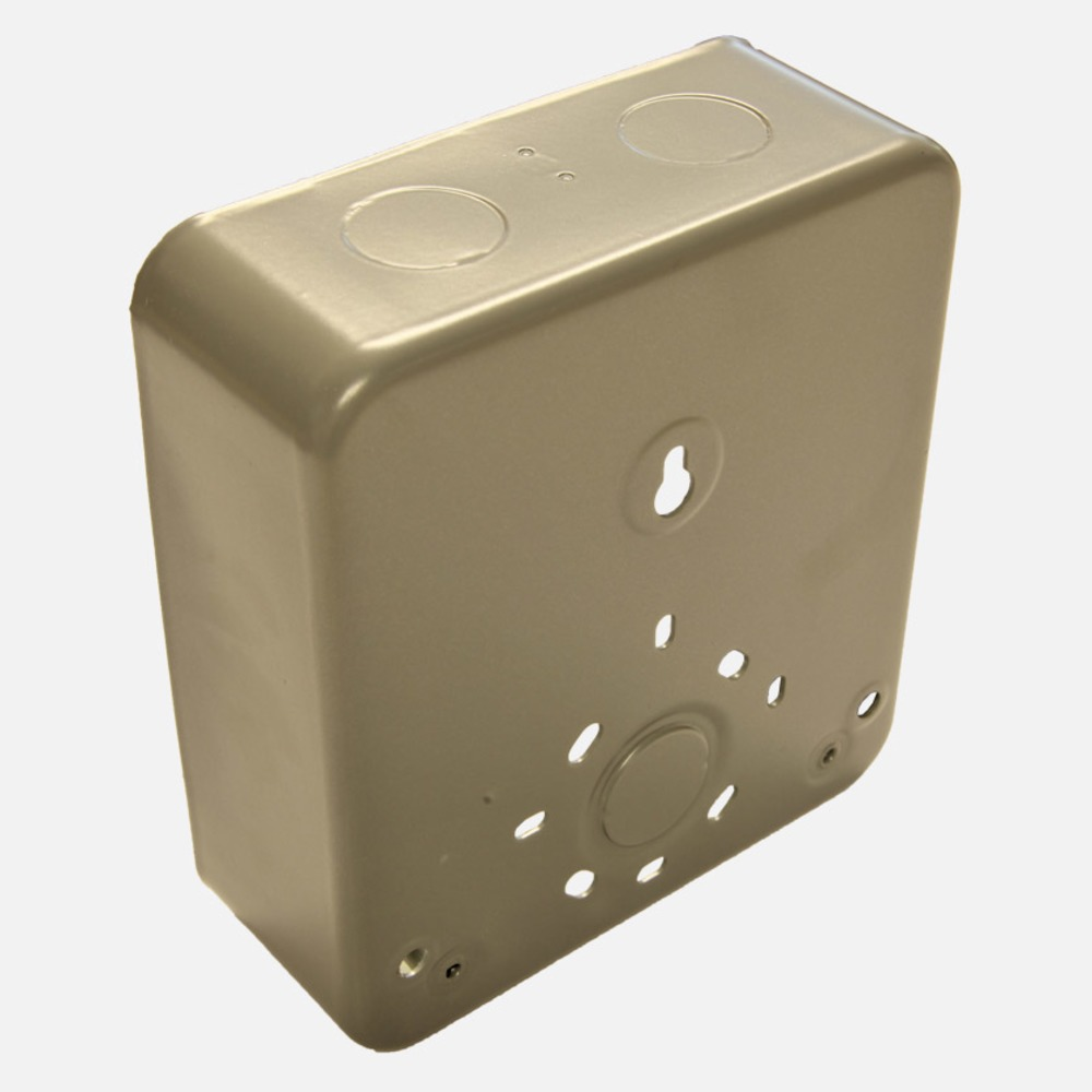 Tecpro LS379FB Flush Metal Back Box for LS371