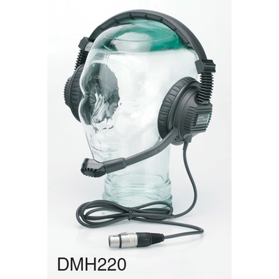 Tecpro DMH220 Double Muff Headset (XLR-5)