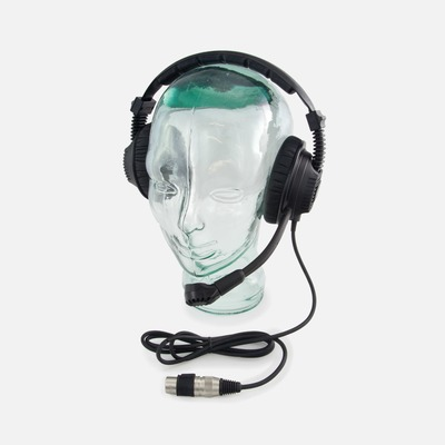 Tecpro DMH227 Double Muff IP67 Waterproof Headset (for BP167)