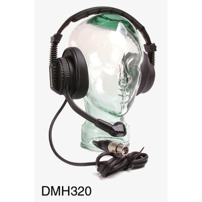 Tecpro DMH320 Double Muff Headset (XLR-5)