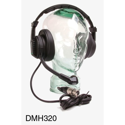 Tecpro DMH320 Double Muff Headset