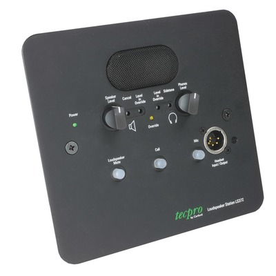 Tecpro LS372 Dual Circuit Flush Wallmount Loudspeaker Station